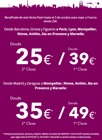 RENFE-SNCF SALE Prices